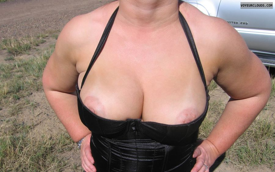 Big Tits, big Boobies, deep Cleavage, Puffy Nipples