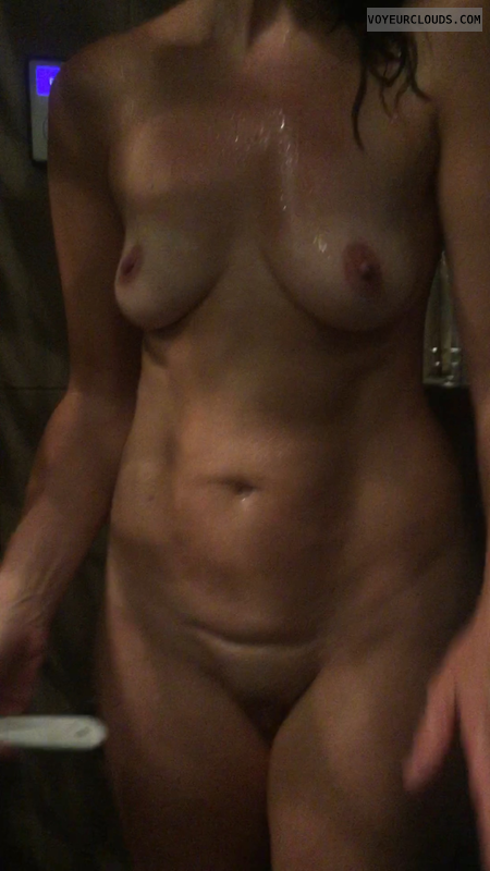 Wife, milf, hot mom, small tits, nipples, Nadiac, wet