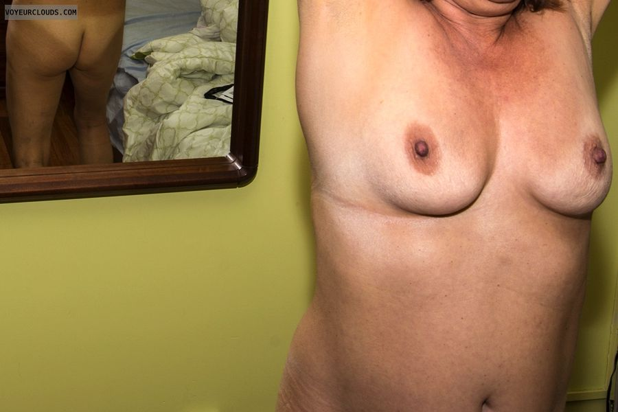 small tits, small boobs, hard nipples, topless