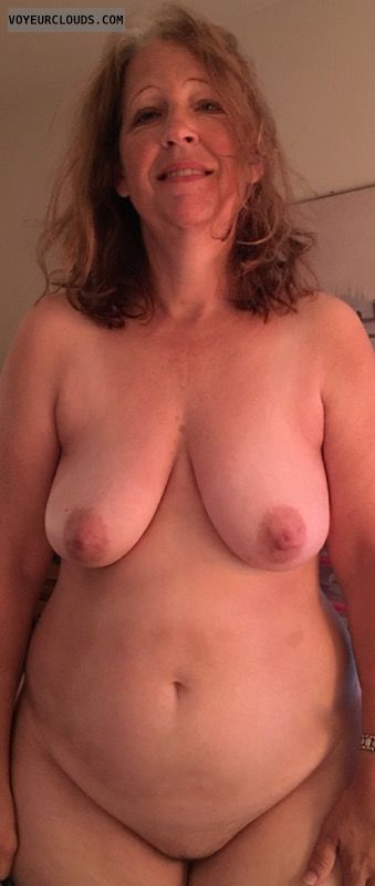 Mature, Full frontal nude, Big Boobs, Saggy Tits, Shaved Pussy