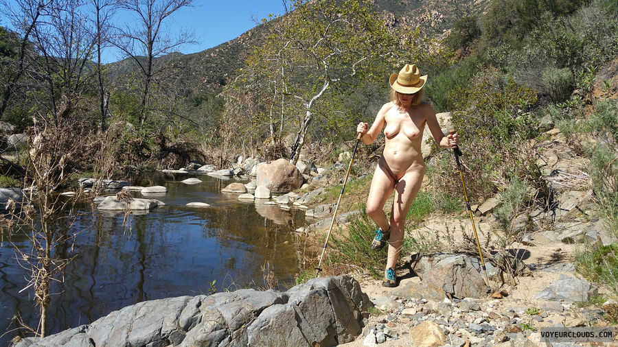Exhibitionist, Nude in Public, Outdoors, Nude Hiking