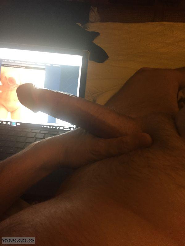 Strokin it! Great titis