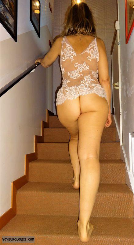 anna, wife, sheer, lingerie, ass