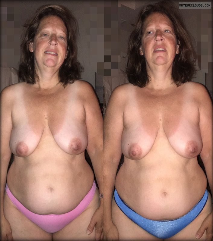 Mature, Saggy Tits, Topless
