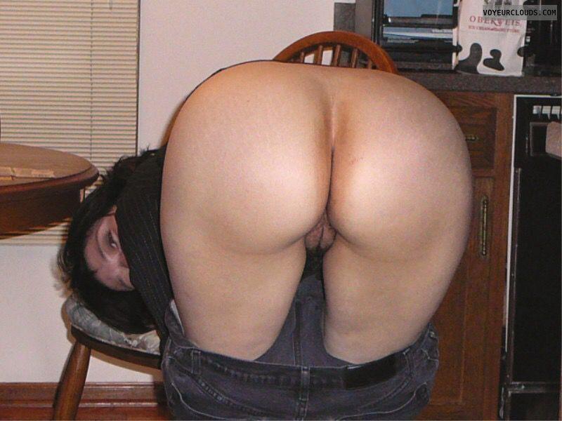 Big Ass, Round Ass, Wfi, Mature, Pussy peak