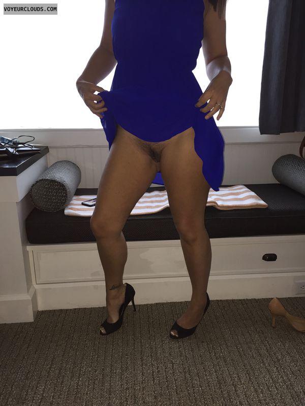 Milf legs, sexy legs, sexy heels, tattoo, pierced pussy