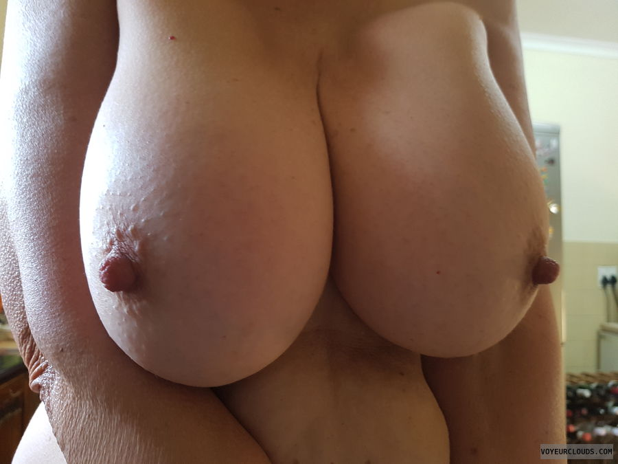 Birthday, Big boobs, Long nipples, Thick nipples