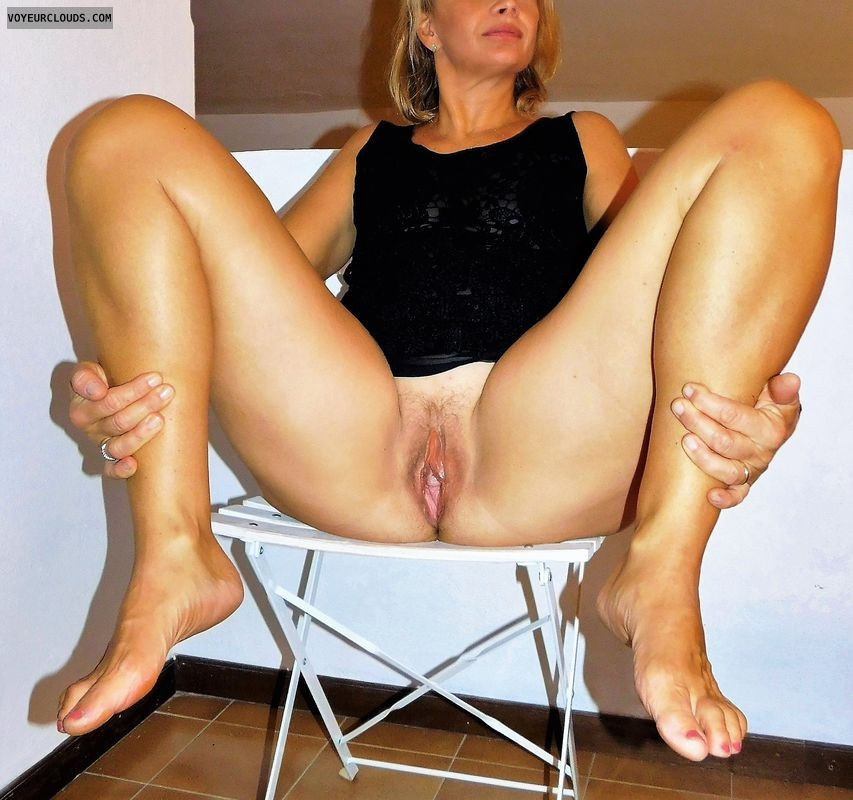 anna, wife, sheer, spread, vagina, pussy, cunt, labia