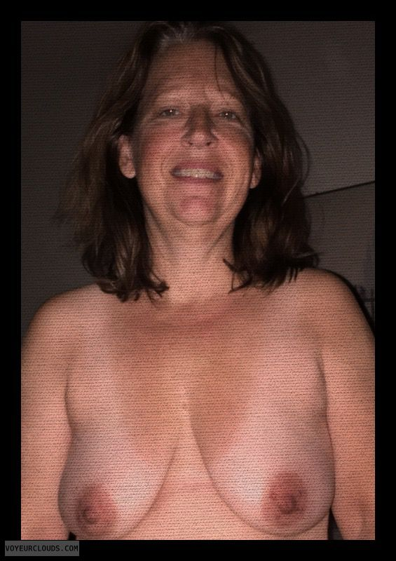 Mature, Saggy Tits, Dark Nipples, Hard Nipples
