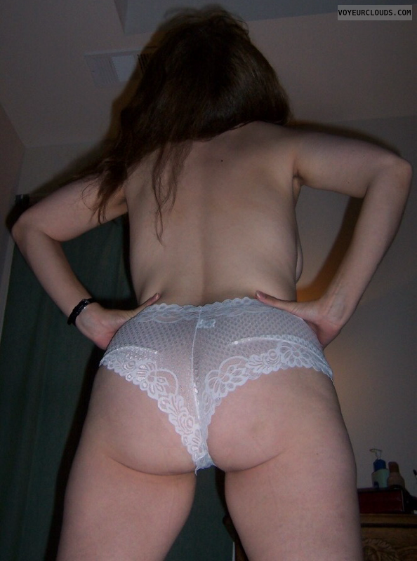 Big Ass, Round Ass, Lace panties, MILF ass