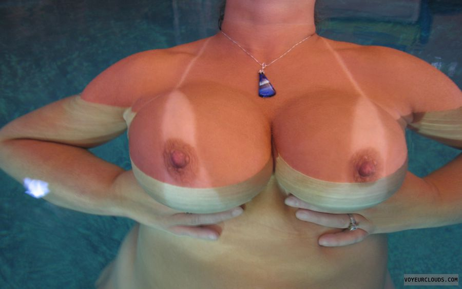 Big Tits, Boobies, Cleavage, Tanlines, Cold Nipples