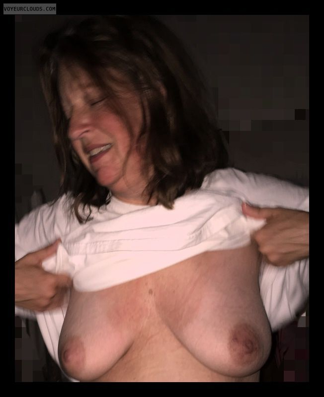 Saggy tits, Mature, slut, Big boobs