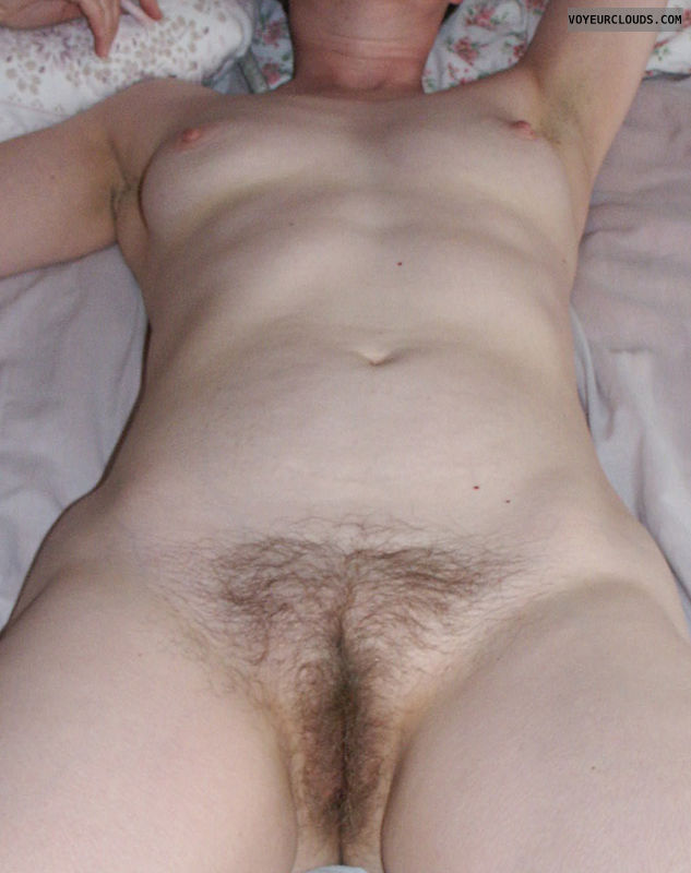 hairy bush, hairy slit, boobs, tits
