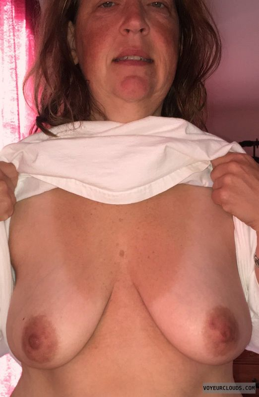 Mature, Saggy tits, Slut, Big Boobs, Dark nipples