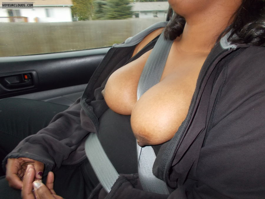 Breast, Nipples, Hard nipples, Cleavage, Big tits