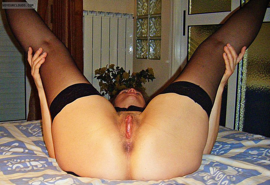 anna, wife, open, spread, ass, cunt, vagina, labia