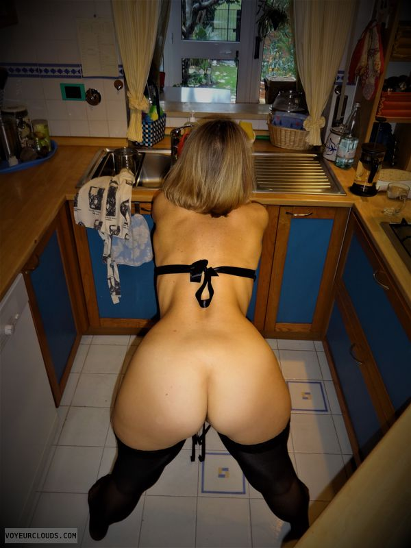 anna, wife, ass, kitchen