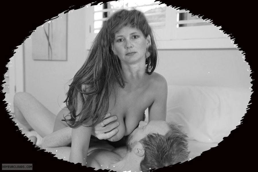 fucking, tits, boobs, blackandwhite