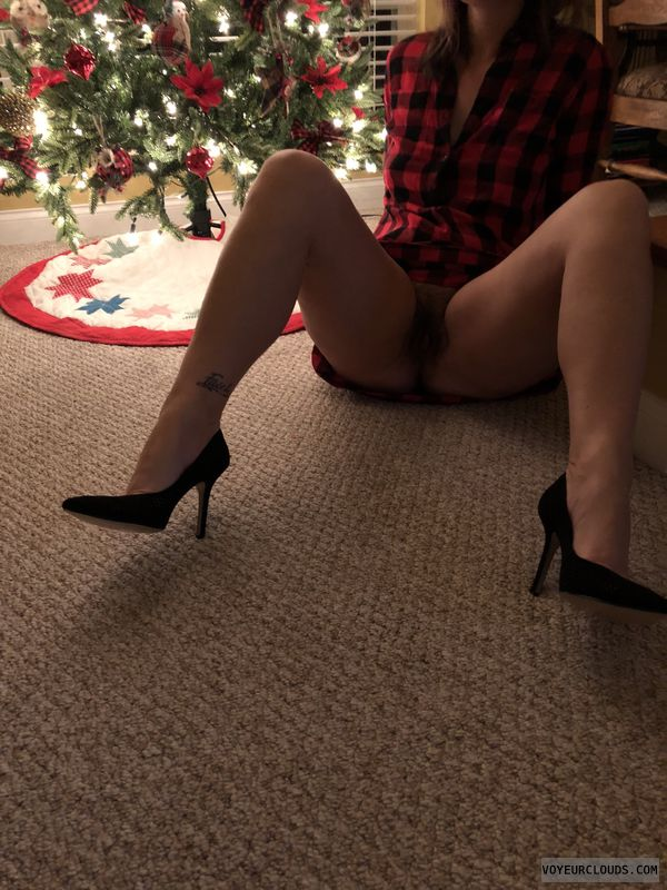 Milf, milf pussy, tattoo, wide open Wednesday, Christmas tree