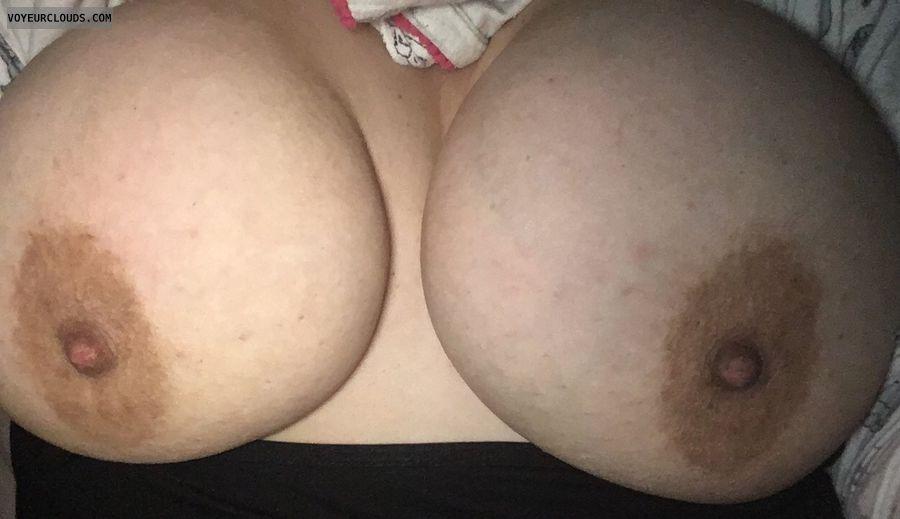 braless, tits out, big boobs, big tits, nipples