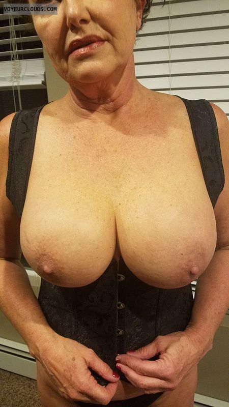 tits out, hard nipples, Sexiest tits, Big boobs, corset