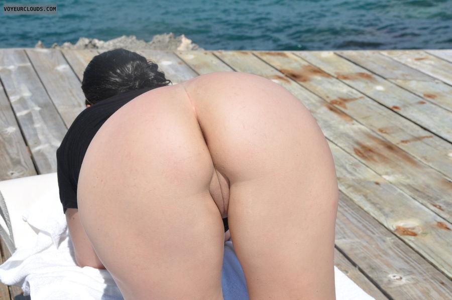 Butt, ass, pussy, shaved