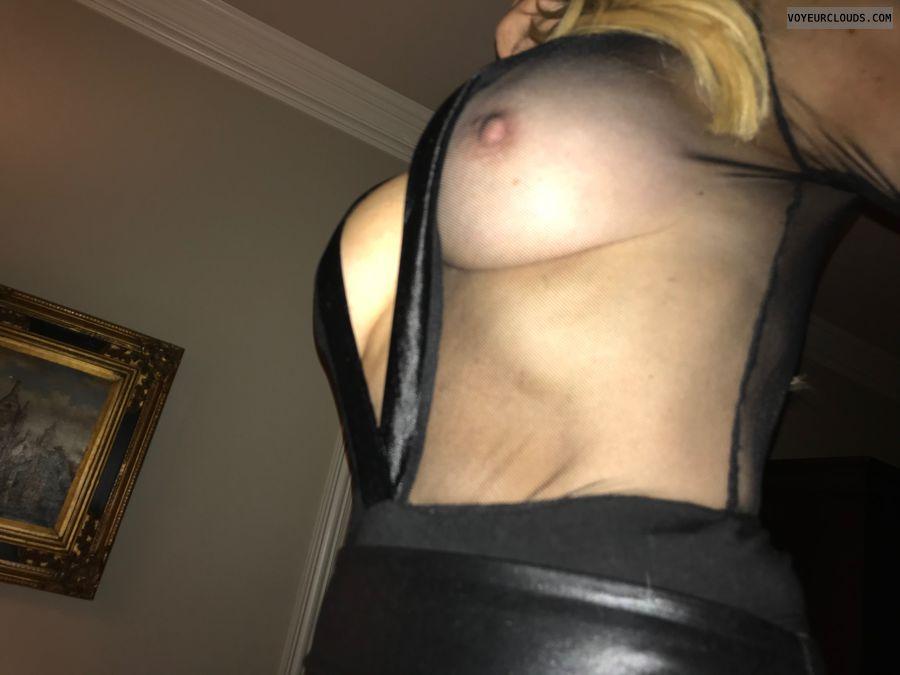 wife\'s tits, milf tits, sheer, big tits