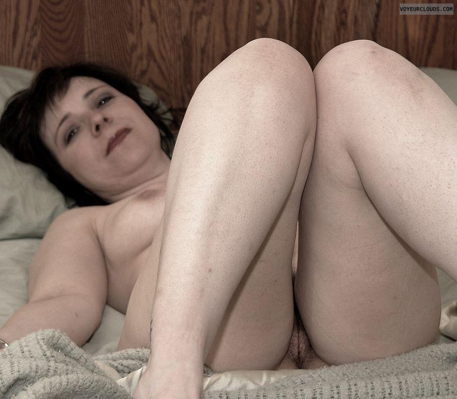 Mature woman, nude milf, Pussy peek, MILF pussy