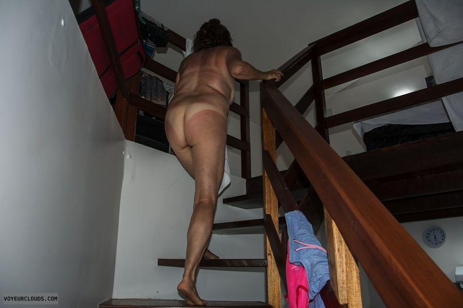 ass, legs, nude wife