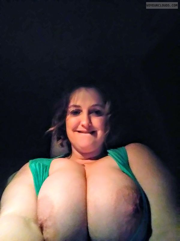 Big tits, milf, wife, tit flash, public