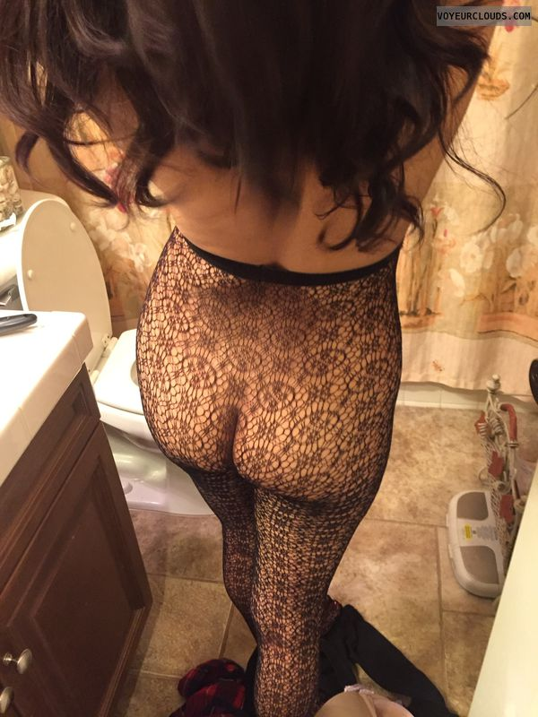 My ass in lace