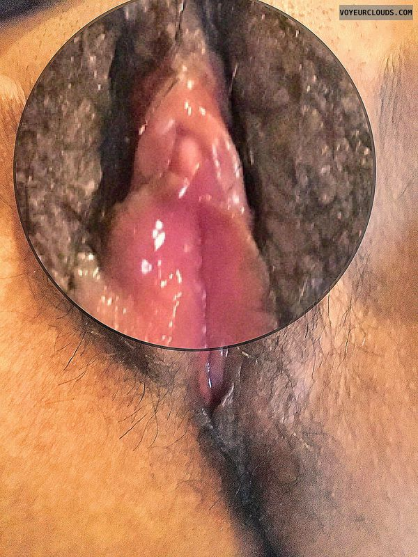 My clit magnified