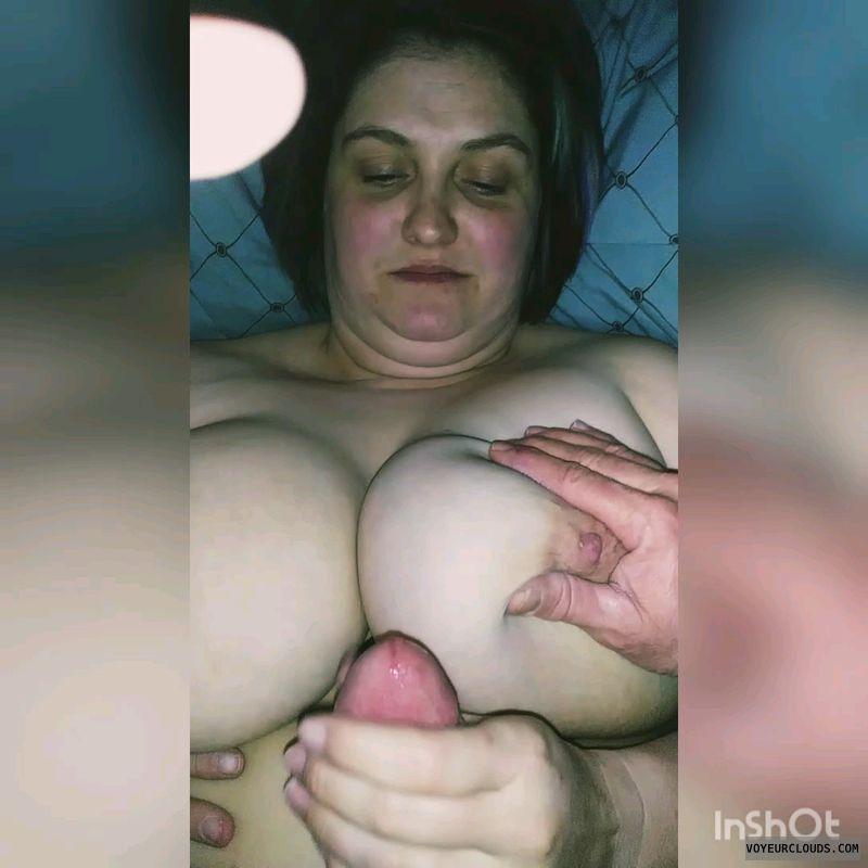 Milf tits, hard nipples, wife, big tits, couple sex