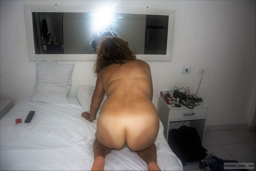 ass, nude wife