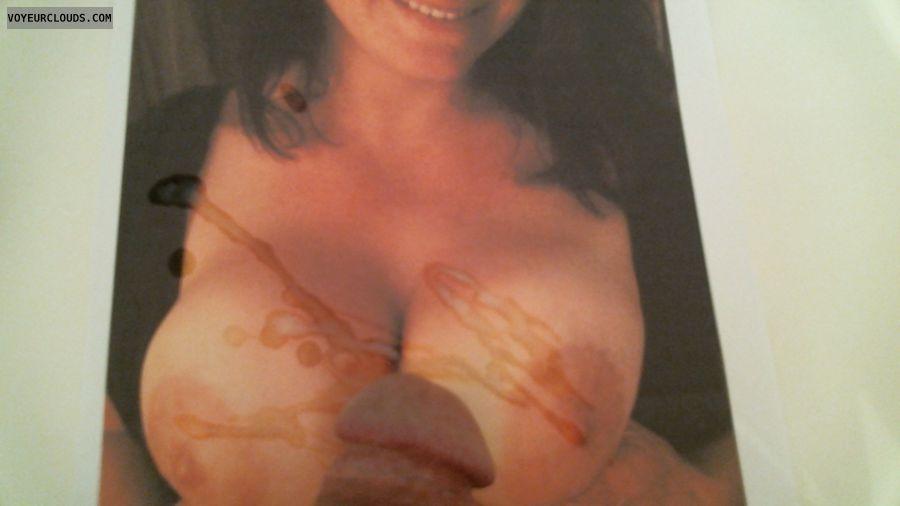 tribute, tits, boobs, cum, nipples