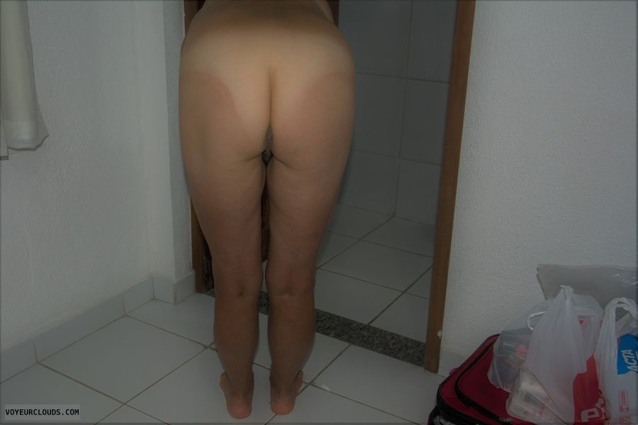 ass, legs, nude wife