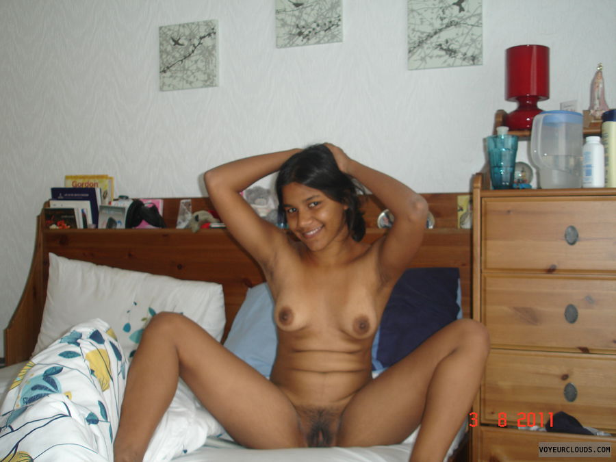 nude wife, sexy wife, brown nipple, pussy, shaved pussy