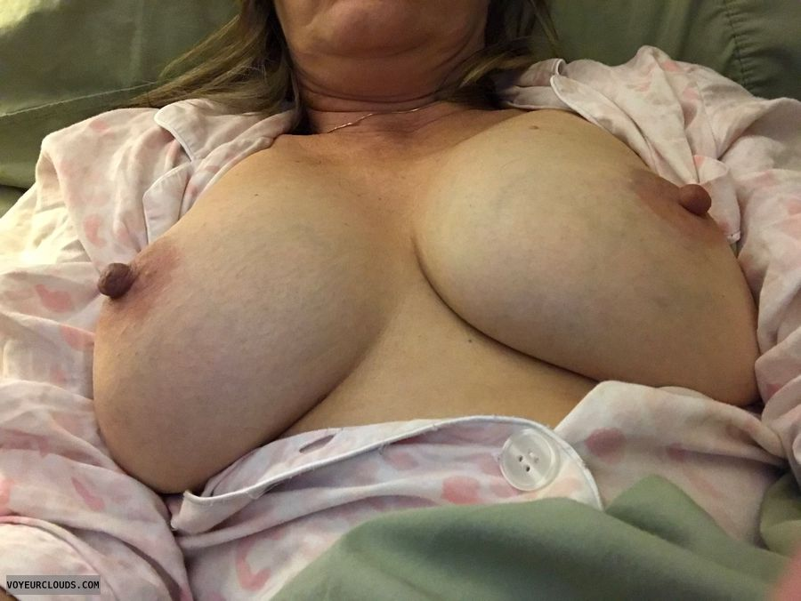 tits out, hard nipples, big boobs, Big boobs,  playtime