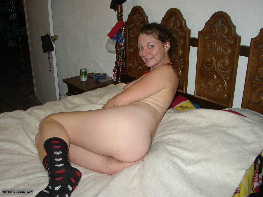 nude, ass, nipple, socks, holiday
