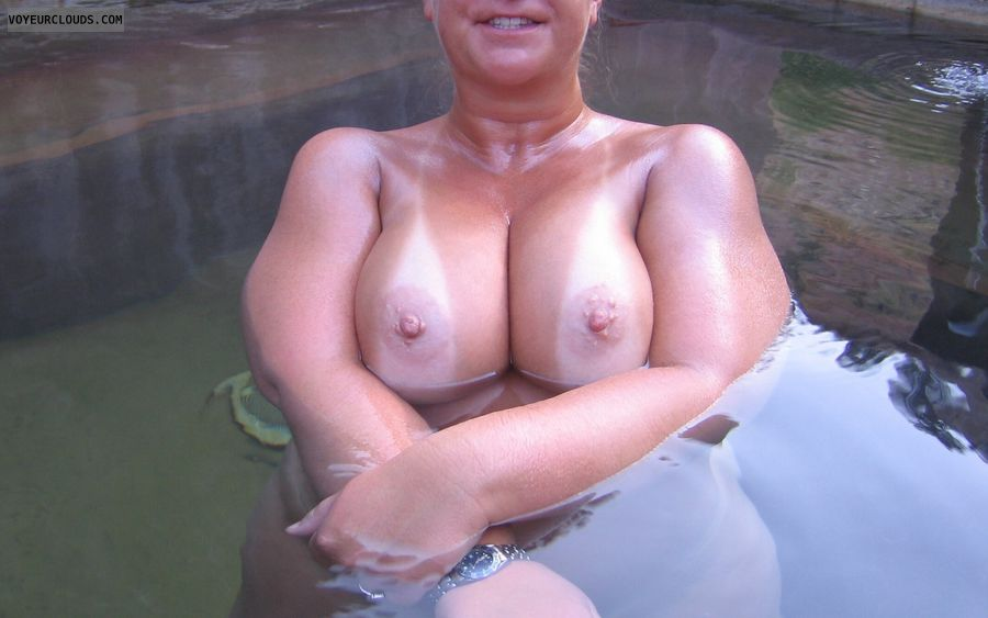 Big Tits, Boobies, Cleavage, Outdoor Nudity, Tanlines