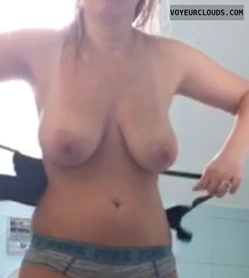 hard nipples, big tits, breasts, nipples, dressing