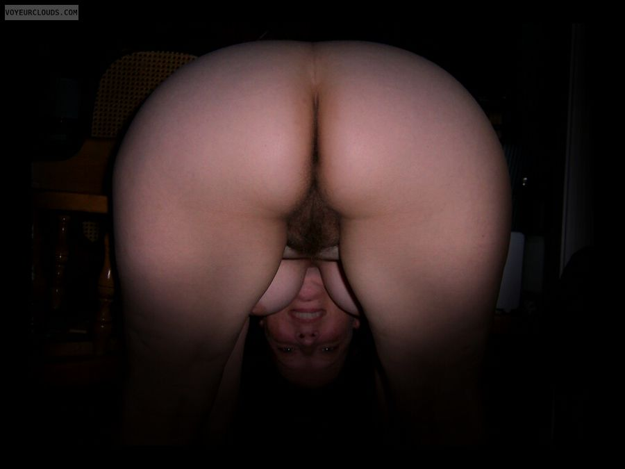 Big Ass, Hairy pussy, SLUT, Large Cheeks, Round Ass