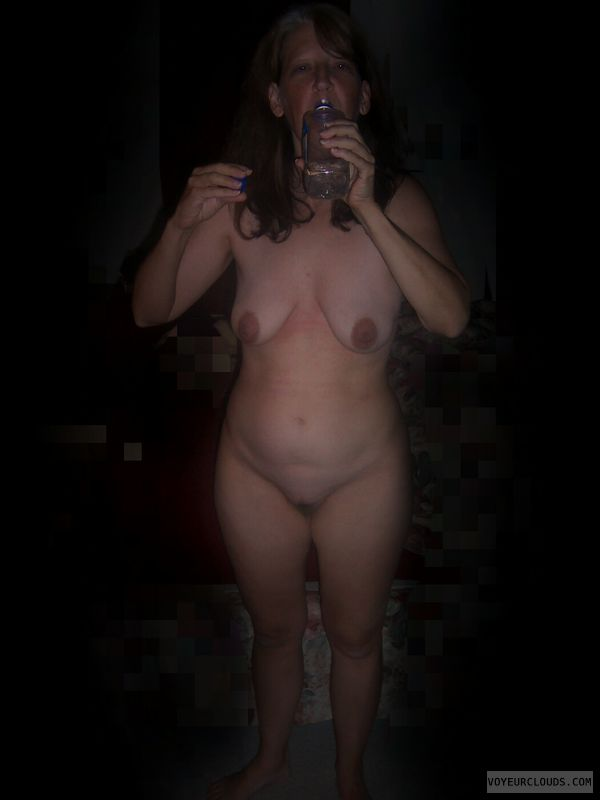 Slut, Nude wife, Wife tits, Wife pussy, Small tits
