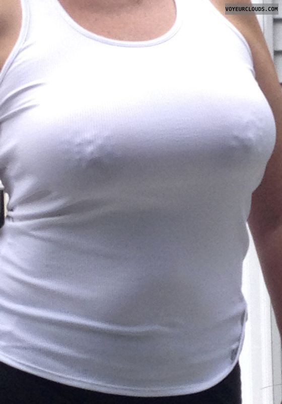 braless, public, nipples, see thru, tits