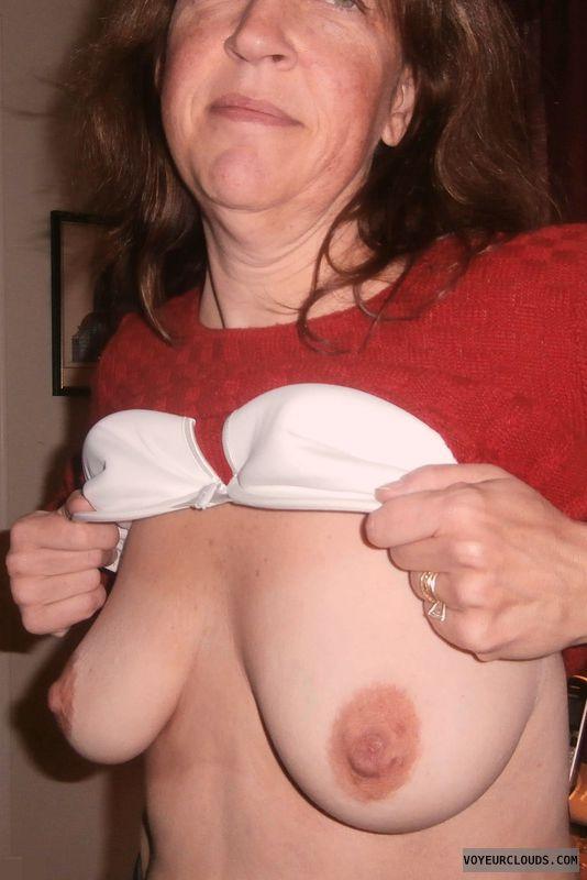 Wife Tits, Slut, titflash, whore