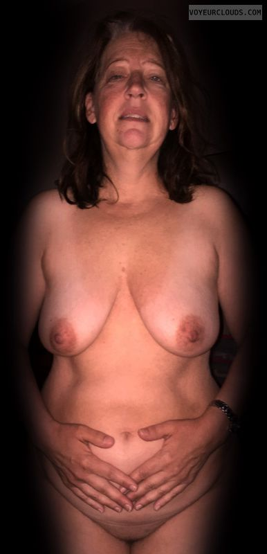 Nude wife, Wife tits, Wide hips, Full frontal, Mature