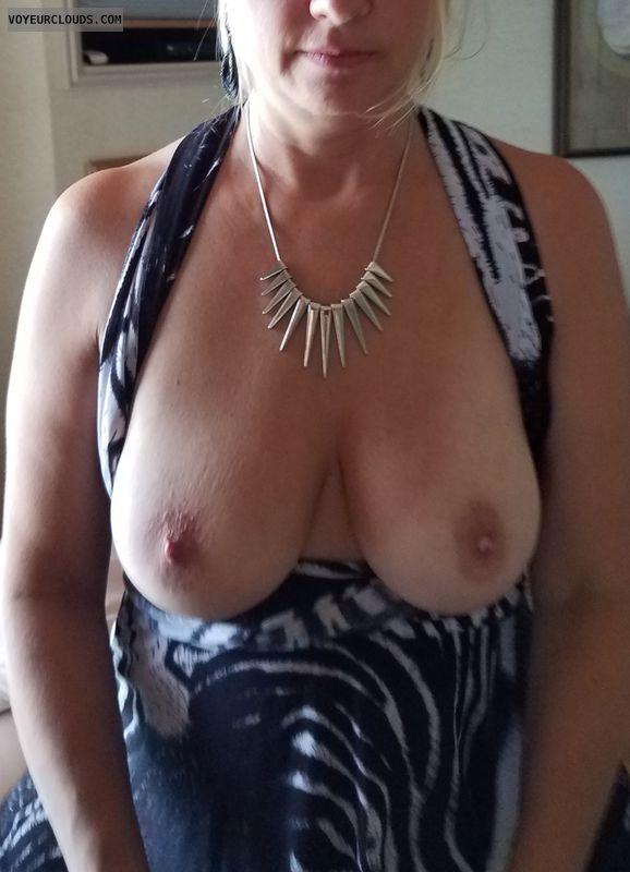 Wife\'s Tits, MILF, Big Tits, Mature Wife, Curvy WIfe