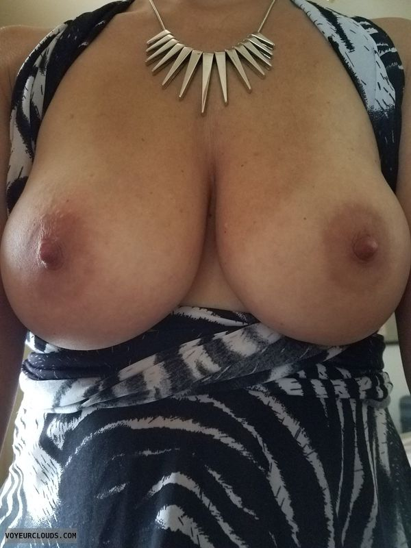 WIfe\'s Tits, MILF, Big Tits, Natural Tits, Mature Wife