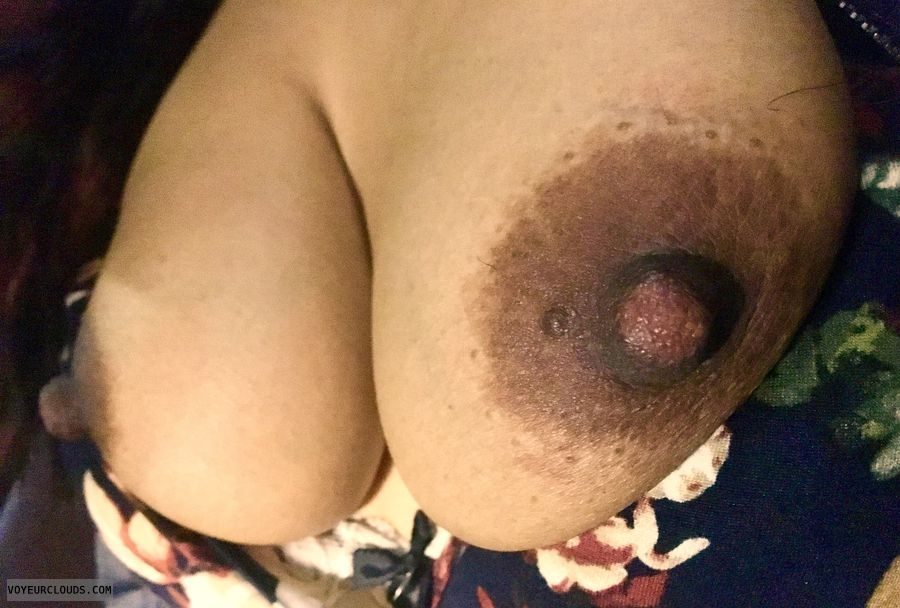 Nipples, hard nipples, tits out, teasing