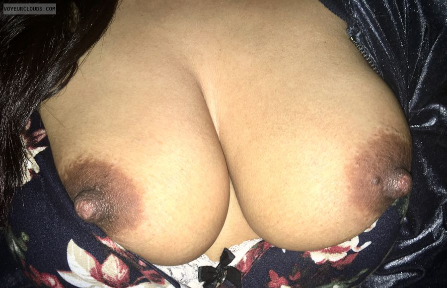 My big Latina nipples